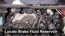 2001 Pontiac Aztek 3.4L V6 Brake Fluid