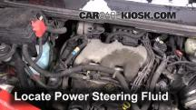 2001 Pontiac Aztek 3.4L V6 Power Steering Fluid