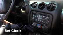 2001 Pontiac Firebird 3.8L V6 Convertible Clock