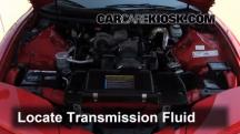 2001 Pontiac Firebird 3.8L V6 Convertible Líquido de transmisión