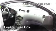 2001 Toyota Celica GT 1.8L 4 Cyl. Fusible (interior)