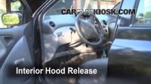 2001 Toyota Echo 1.5L 4 Cyl. (4 Door) Capó
