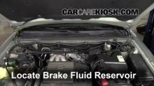 2001 Toyota Highlander 3.0L V6 Brake Fluid