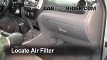 2001 Toyota RAV4 2.0L 4 Cyl. Filtro de aire (interior)
