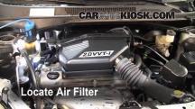 2001 Toyota RAV4 2.0L 4 Cyl. Filtro de aire (motor)