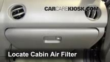 2002 Acura RSX Type-S 2.0L 4 Cyl. Filtro de aire (interior)