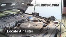 2002 Audi A4 Quattro 1.8L 4 Cyl. Turbo Air Filter (Cabin)