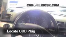 2002 Audi A4 Quattro 1.8L 4 Cyl. Turbo Check Engine Light