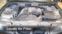 2002 BMW 325i 2.5L 6 Cyl. Sedan Filtro de aire (interior)