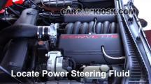 2002 Chevrolet Corvette 5.7L V8 Convertible Líquido de dirección asistida