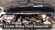 2002 Dodge Ram 1500 Van 5.2L V8 Standard Passenger Van Brake Fluid