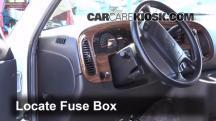2002 Dodge Ram 1500 Van 5.2L V8 Standard Passenger Van Fusible (interior)