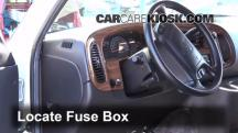 2002 Dodge Ram 1500 Van 5.2L V8 Standard Passenger Van Fuse (Interior)