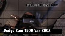 2002 Dodge Ram 1500 Van 5.2L V8 Standard Passenger Van Review