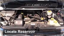 2002 Dodge Ram 1500 Van 5.2L V8 Standard Passenger Van Windshield Washer Fluid