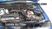 2002 Ford Escort ZX2 2.0L 4 Cyl. Filtro de aire (motor)