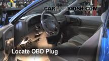 2002 Ford Escort ZX2 2.0L 4 Cyl. Compruebe la luz del motor