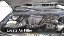 2002 Ford Explorer XLT 4.0L V6 Filtro de aire (motor)