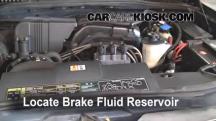 2002 Ford Explorer XLT 4.0L V6 Líquido de frenos
