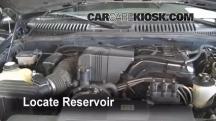 2002 Ford Explorer XLT 4.0L V6 Windshield Washer Fluid