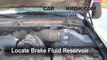 2002 Ford F-250 Super Duty Lariat 7.3L V8 Turbo Diesel Extended Cab Pickup (4 Door) Líquido de frenos