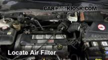 2002 Ford Focus ZX3 2.0L 4 Cyl. Air Filter (Engine)