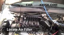 2002 Ford Taurus SE 2-Valve 3.0L V6 Air Filter (Cabin)