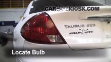 2002 Ford Taurus SE 2-Valve 3.0L V6 Lights