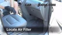 2002 Honda Odyssey EX 3.5L V6 Filtro de aire (interior)