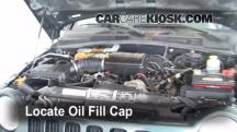 2002 Jeep Liberty Limited 3.7L V6 Aceite