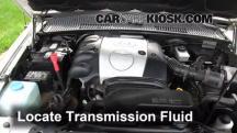 2002 Kia Sportage 2.0L 4 Cyl. Sport Utility (4 Door) Líquido de transmisión