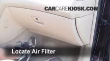 2002 Lexus ES300 3.0L V6 Filtro de aire (interior)