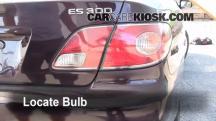 2002 Lexus ES300 3.0L V6 Luces
