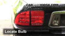 2002 Lincoln LS 3.9L V8 Lights