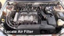 2002 Mazda Protege ES 2.0L 4 Cyl. Filtro de aire (motor)