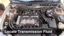 2002 Mazda Protege ES 2.0L 4 Cyl. Transmission Fluid