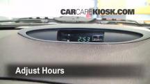 2002 Nissan Maxima GLE 3.5L V6 Clock