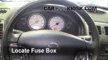 2002 Nissan Maxima GLE 3.5L V6 Fuse (Interior)