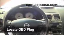 2002 Nissan Maxima GLE 3.5L V6 Check Engine Light
