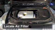 2002 Renault Vel Satis 2.0T 2.0L 4 Cyl. Turbo Filtro de aire (motor)