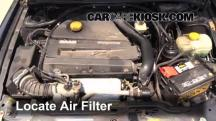 2002 Saab 9-3 SE 2.0L 4 Cyl. Turbo Hatchback (4 Door) Air Filter (Engine)