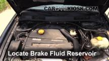 2002 Saab 9-3 SE 2.0L 4 Cyl. Turbo Hatchback (4 Door) Brake Fluid