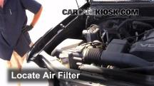 2002 Toyota Sequoia SR5 4.7L V8 Filtro de aire (motor)