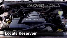 2002 Toyota Sequoia SR5 4.7L V8 Líquido limpiaparabrisas