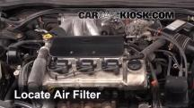 2002 Toyota Solara SLE 3.0L V6 Coupe Air Filter (Engine)