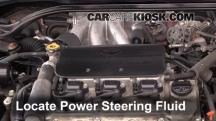 2002 Toyota Solara SLE 3.0L V6 Coupe Power Steering Fluid