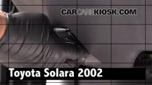 2002 Toyota Solara SLE 3.0L V6 Coupe Review