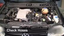 2002 Volkswagen Cabrio GLX 2.0L 4 Cyl. Hoses
