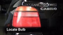 2002 Volkswagen Cabrio GLX 2.0L 4 Cyl. Luces