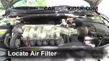 2002 Volvo S80 2.9 2.9L 6 Cyl. Air Filter (Engine)